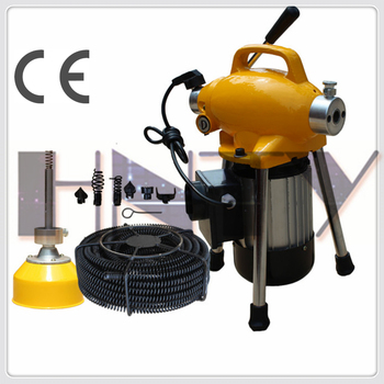 Drain cleaning machine for sale