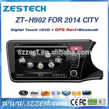 ZESTECH Car Accessories For Honda City HD 9u0027u0027 Touch Screen 2 Din Car Audio