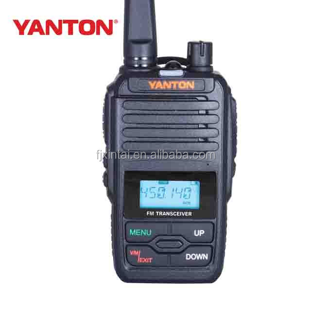 CE Approved pmr radio 446Mhz 3Watts fm transmitter radio(YANTONT-320PMR)