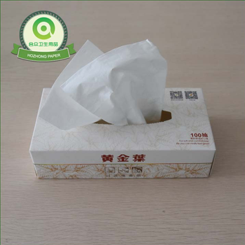 Customized Box Facial Tissue Paper and Soft Absorbent Paper Handkerchief