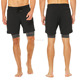 high cut running training shorts knit boxer interior 2-IN-1 short pants men