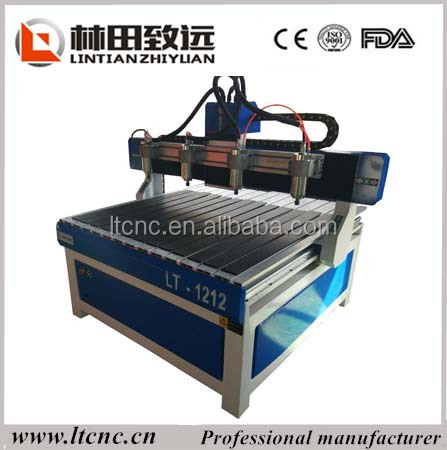 factory price LT-1212 with four heads,high efficiency to process wood/plastic/doule color board