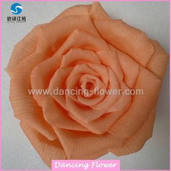 Hot Crepe Paper Flowers Handmade Flower Designs Wfch 01