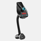 2018 New Products Electronic Car MP3 Player 4mm In-car FM Transmitter BT For iPhone /iPod Touch/ipad Mini Wireless Transmitter