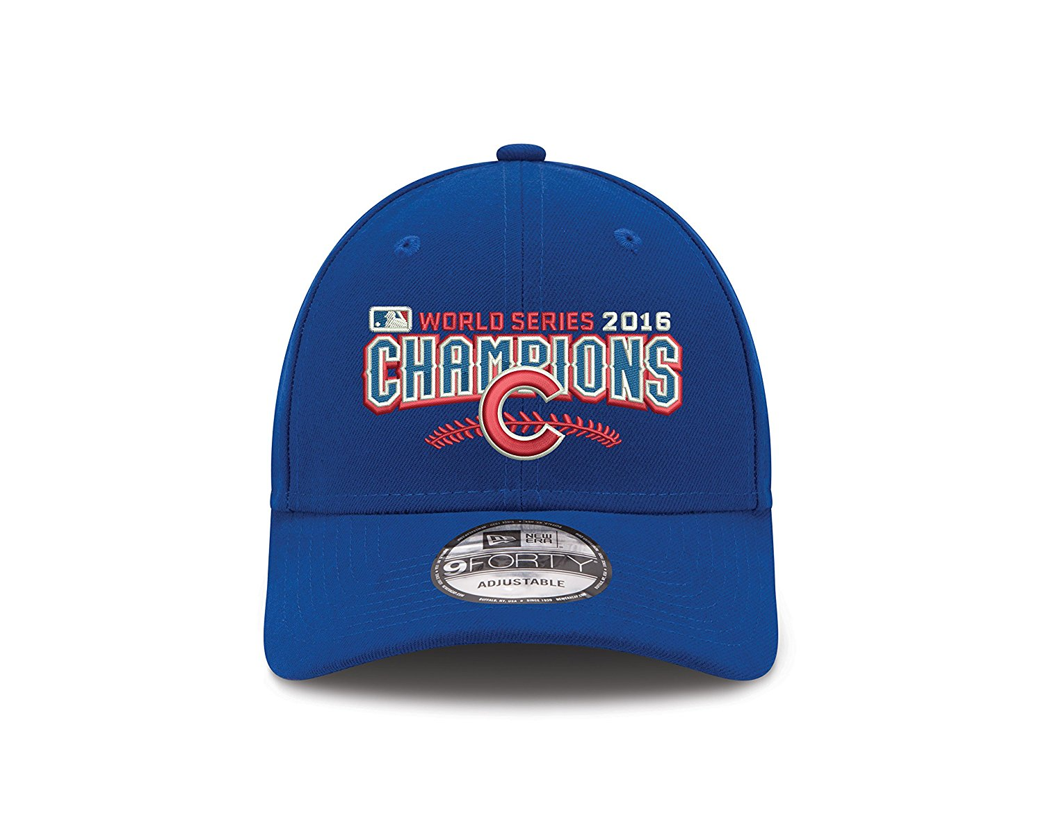 307361fef88 Get Quotations · Chicago Cubs New Era 2016 World Series Champions 9Forty  Adjustable Hat -Royal