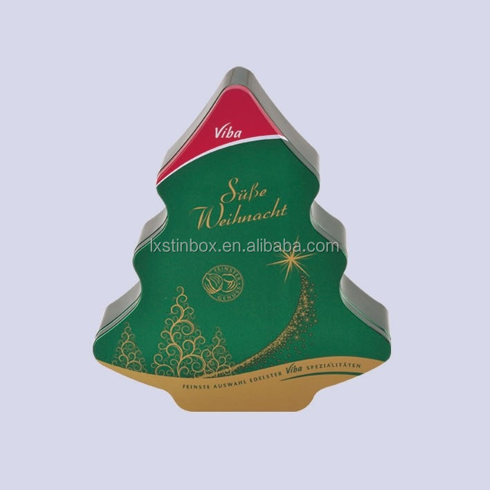 christmas tree shaped tin box christmas tree shaped tin box suppliers and manufacturers at alibabacom - Christmas Tree Boxes