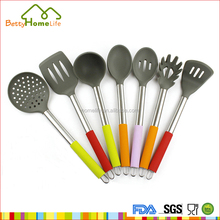 Professional stainless steel kitchen storage gadgets Are Silicone Cooking Utensils Safe with CE certificate