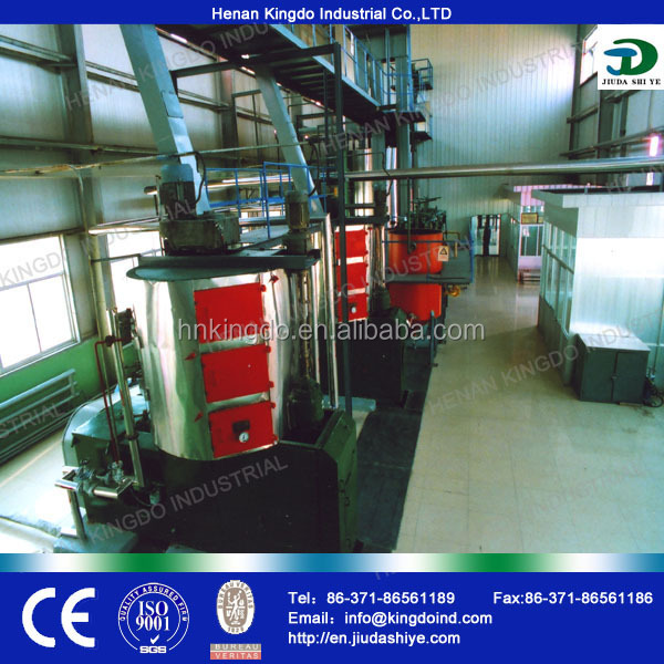 China castor seed oil processing equipment for the processing of waste oil and fat