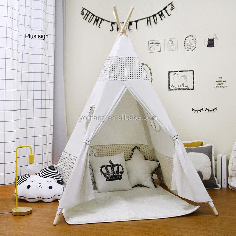 YF-W3103 poliestere carino animale bambino portatile tenda da campeggio anti-zanzara pieghevole letto per bambini tenda bambini pop up tenda del gioco