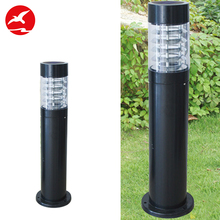 Alibaba Hot Sale Morden Aluminum Body 1W Bollard Light Ip65 Outdoor Solar Led Lawn Garden Lighting