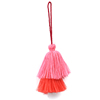 New Double layer tassels with braided rope for garment decorative tassels for curtains tassels for bag