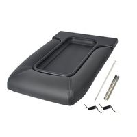 Center Console Lid Kit for 99-07 Silverado, Avalanche, Suburban, Sierra, Yukon, Escalade - Replaces OEM 19127364 - Dark Gray