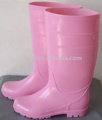 f6fe09fc0a0 bota pvc rosa