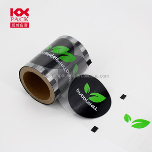 Customized Printed PET/CPP Cup Sealing Laminating Film For PP Cup