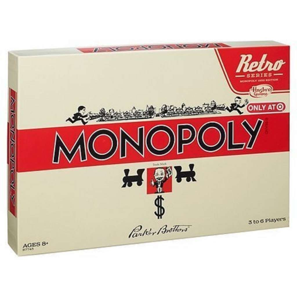 Get Quotations New Monopoly Game Retro Edition