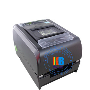 Textile fabric ribbon TX-300 care label printing thermal printer auto cutter