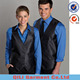 Hotel Staff Uniform Design Bar Waitress vest Uniforms For Hotel Uniform