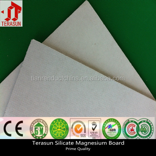 CE approved moisture and water resistant calcium silicate board price for building construction