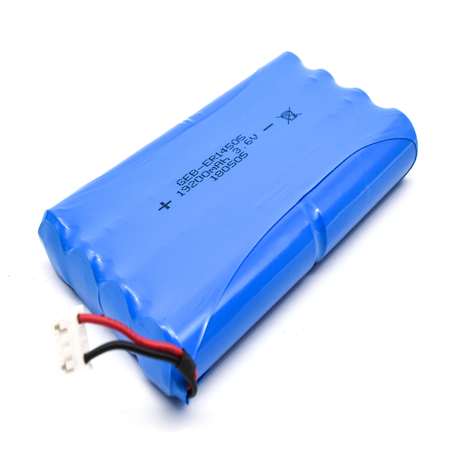 Non-rechargeable Li-Socl2 battery ER14505 AA size 1S3P Lithium Thionyl Chloride 3.6V 8100mAh