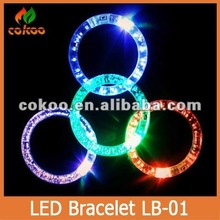 flash bracelet luminous hand ring neon bracelet prom party supplies small gift