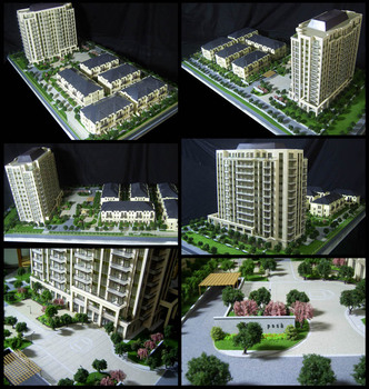 Pretty Residential Rendering/Visualization/Modeling, Exterior Landscape Design model making