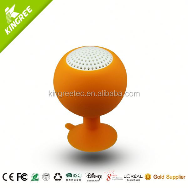 wholesale 24 inch speaker silicone portable speaker from China factory