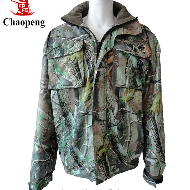 Wholesale factory manufacture green camouflage jacket women with hood