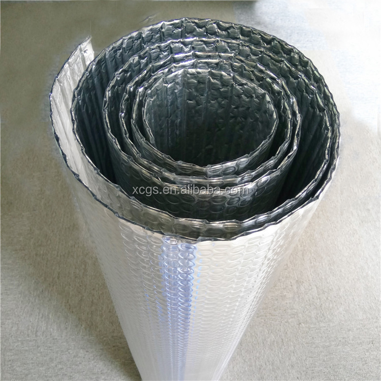 Greenhouse aluminium foil bubble insulation for floor roof wall