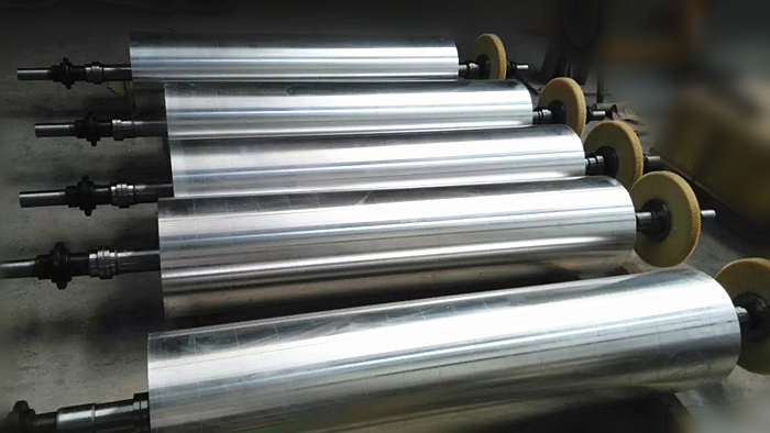 Aluminum alloy flexo cylinder roller for flexo printing machinery