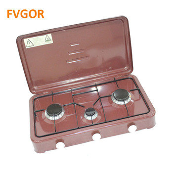 Fvgor GSE-3-4 home kitchen appliance 2 burner cooking table gas stove