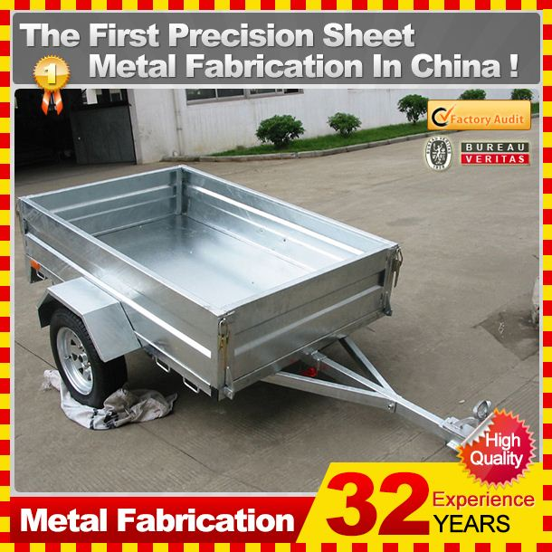kindle fiberglass cargo trailer,with custom service