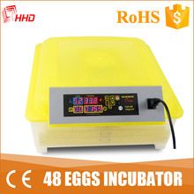 full automatic egg turning mini incubator for hatching birds eggs YZ8-48