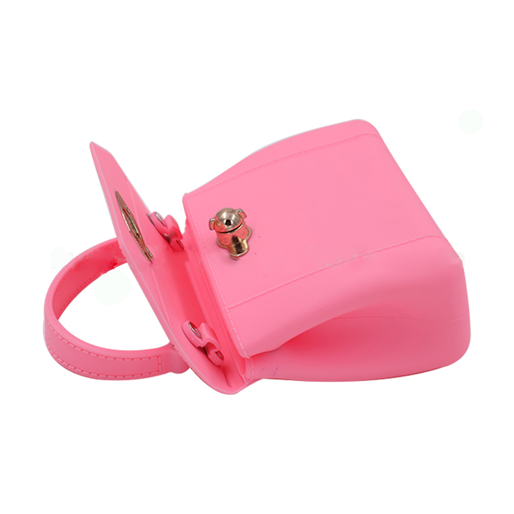 Promotion Silicone handbag Women's Ladies Girls shoulder bag