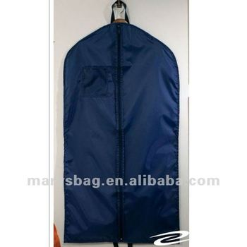 "210D Polyurethane Garment Bag with 5"" Top Opening and Double Handles"
