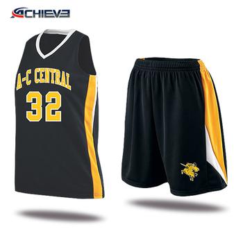 d1fc76ec6ca4c Diseño personalizado escuela baloncesto uniformes deportivos modelos para  hombres