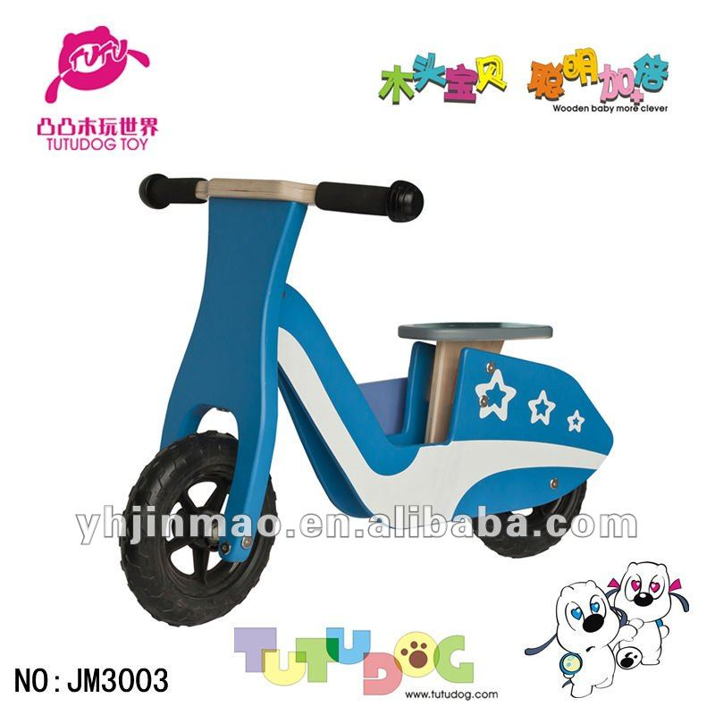 2015 newest Wooden scooter toy boys toy