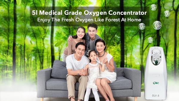 Della fabbrica del Commercio All'ingrosso A Buon Mercato 5l Concentratore di Ossigeno Concentratore di Ossigeno Medica Concentratore di Ossigeno Prezzo