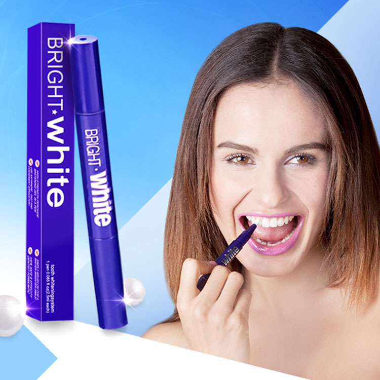 Bright White Tooth Whotening Bleaching Tee Whitening Strips Teeth