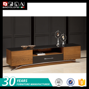 Living room furniture wooden TV cabinet modern TV stand led tv stand in india