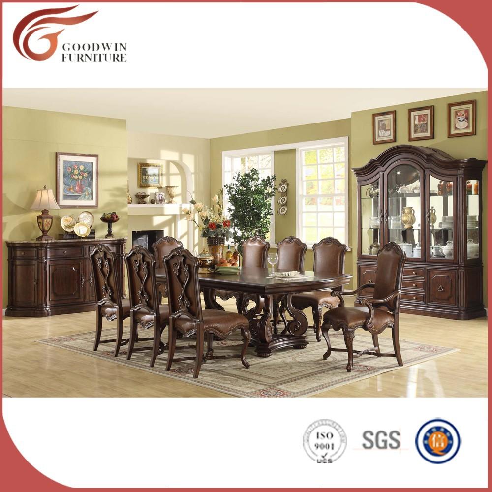 huiselijke ontwerp traditionele klassieke europese luxe dining set ...