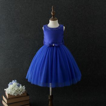 2018 Bebé Niña Vestido De Fiesta Los Niños Vestidos Diseños 3 Años Vestido De La Muchacha En Color Azul Marino Buy Vestido De Niña De 3 Añosvestido