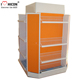 Durable Metal Supermarket Equipment Freestanding Heavy Duty Storage Gondola Shelving System
