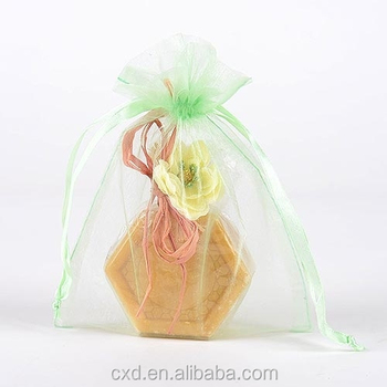 Small Organza Drawstring Bags For Gifts