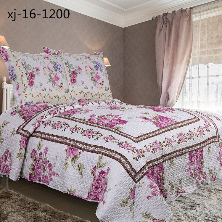 Factory Sale excellent quality adult quilts bedding
