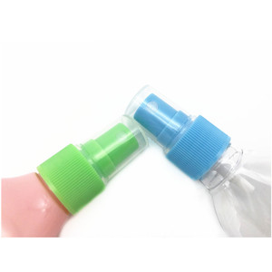 CF-M-1 Ribbed closure custom direct sales mist sprayer perfume 20 410 plastic cap fine mist sprayer pump for bottle