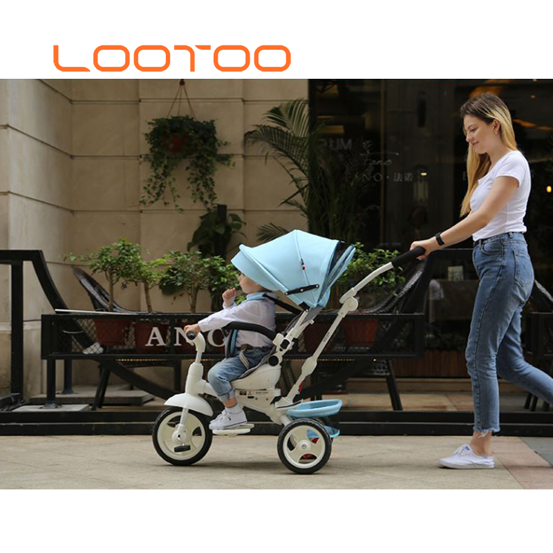 10 inch baby ride on toy foldable kids tricycle / children tricycle folding