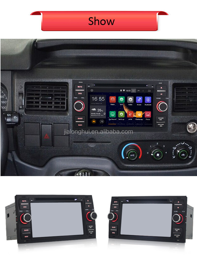 Double Din Android 4.4.4 Car Radio DVD Player for Ford Focus 2005 Car GPS Audio,WIFI, 3G,Bluetooth,RDS,SWC,1080P Video Playback