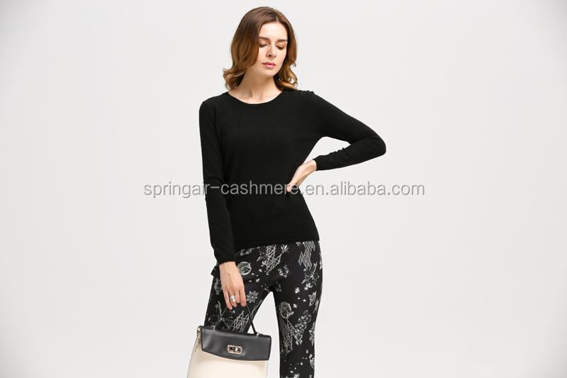 LADIES KNITTED SWEATER CASHMERE FEEL