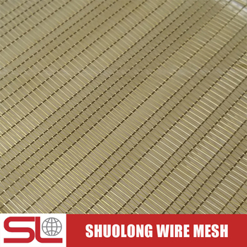 Shuolong XY-R-01 Decorative Woven Copper Wire Mesh for Laminated Glass