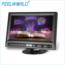 FEELWORLD 8 inç 16:9 araba pc ekran RCA AV HDMI VGA ve otomatik dikiz